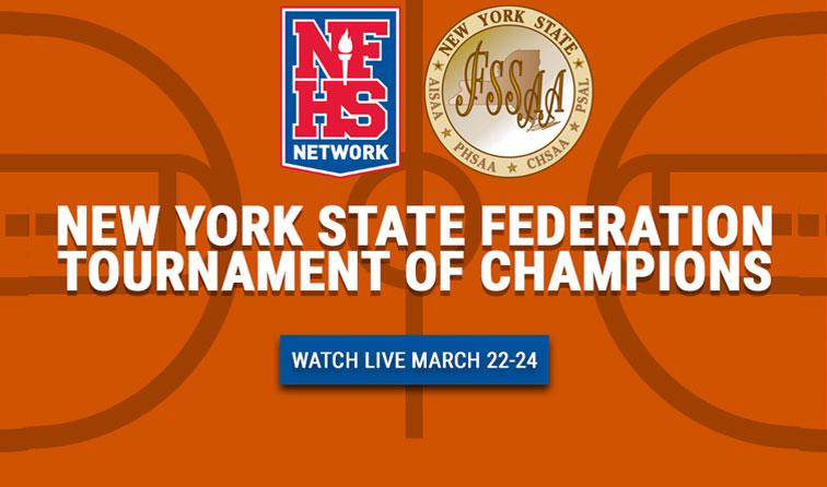 graphic saying NYS federation tournament of champions on NFHSnetwork.com