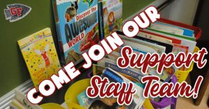 Come join our support staff team!